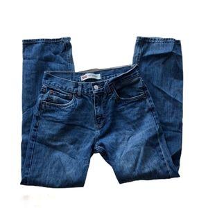 "Levi's 514 straight leg jeans 28""W"